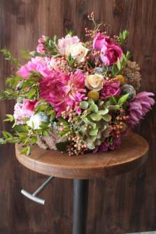 Bouquet de fin d'été. Fleuriste Toulouse ©Gali M