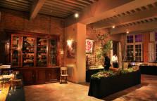 Mise en scène végétale pour une soirée autour de la truffe. ©bullit visual agency